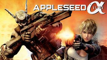 Netflix box art for Appleseed: Alpha