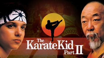 Netflix box art for The Karate Kid Part II