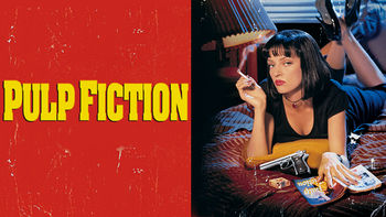 Netflix box art for Pulp Fiction