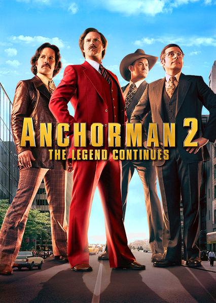 Anchorman 2: The Legend Continues Netflix ES (España)