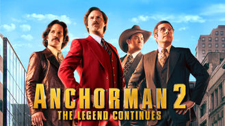 Netflix Box Art for Anchorman 2: The Legend Continues