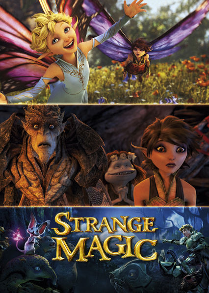 Strange Magic Netflix BR (Brazil)