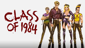 Netflix box art for Class of 1984