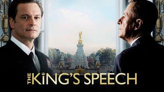 Netflix box art for The King's Speech