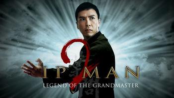 Netflix box art for Ip Man 2
