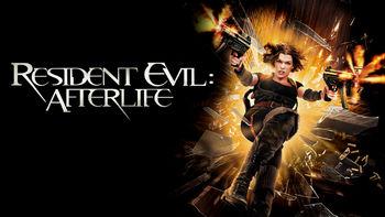 Netflix box art for Resident Evil: Afterlife