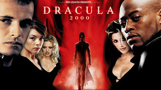 Netflix box art for Dracula 2000