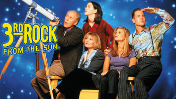 Netflix box art for 3rd Rock from the Sun - Season 4