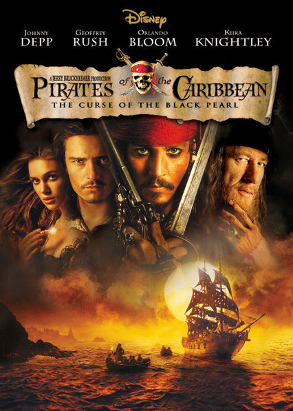 Pirates of the Caribbean: The Curse of the Black Pearl Netflix BR (Brazil)