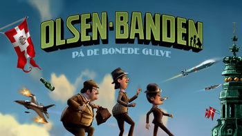Netflix box art for Olsen-banden på de bonede gulve