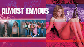 Netflix box art for Almost Famous