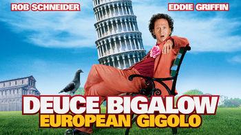 Netflix box art for Deuce Bigalow: European Gigolo