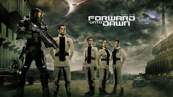Netflix box art for Halo 4: Forward Unto Dawn