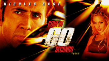 Netflix box art for Gone in 60 Seconds