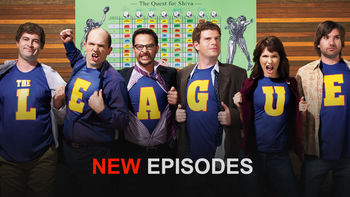 Netflix box art for The League - Season 1