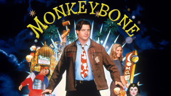 Netflix box art for Monkeybone