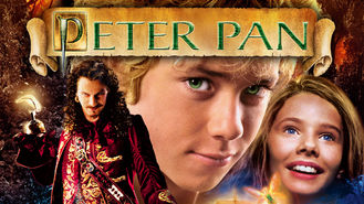 Netflix box art for Peter Pan