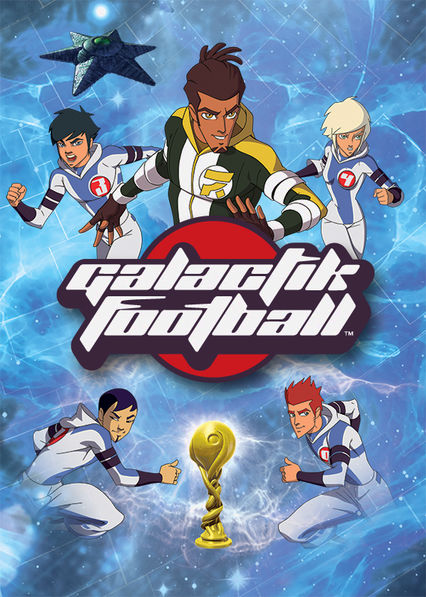 Galactik Football Netflix BR (Brazil)