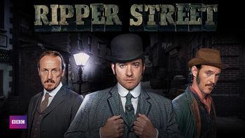 Netflix box art for Ripper Street - Series 2