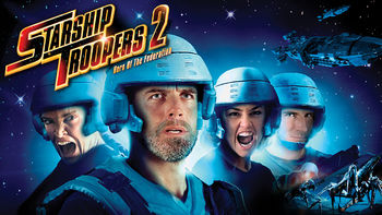 Netflix box art for Starship Troopers 2