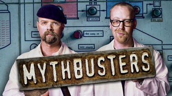 Netflix box art for MythBusters - Season 1