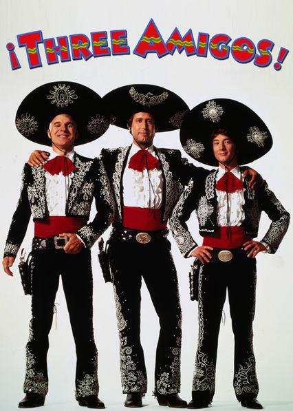 Three Amigos Netflix AU (Australia)