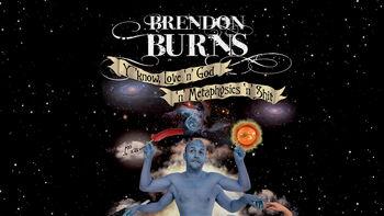 Netflix box art for Brendon Burns: Y'Know - Love 'N' God 'N...