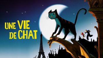 Netflix box art for A Cat in Paris