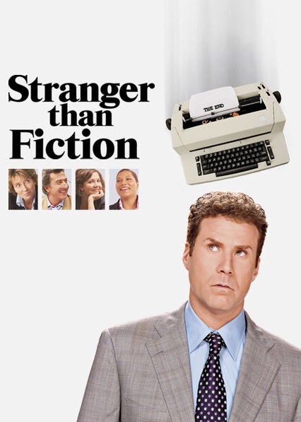 Stranger than Fiction Netflix BR (Brazil)