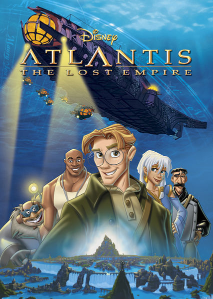 Atlantis: The Lost Empire Netflix BR (Brazil)