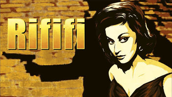 Netflix box art for Rififi