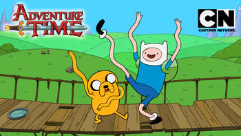 Netflix box art for Adventure Time - Season 4