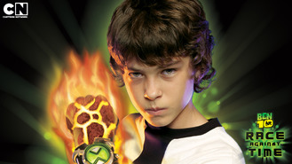 Netflix box art for Ben 10: Race Against Time