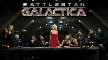 Netflix box art for Battlestar Galactica - Season 1