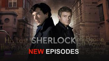 Netflix box art for Sherlock - Series 3