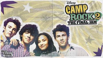 Netflix box art for Camp Rock 2: The Final Jam