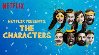 Netflix box art for Netflix Presents: The Characters - Season 1