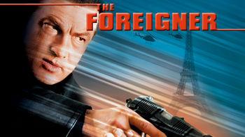 Netflix box art for The Foreigner