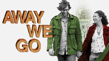 Netflix box art for Away We Go