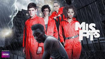 Netflix box art for Misfits - Season 1