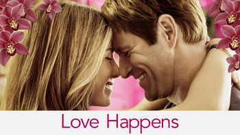 Netflix box art for Love Happens