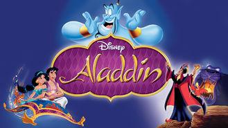 Netflix box art for Aladdin