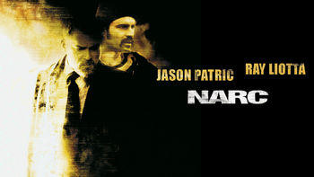 Netflix box art for Narc