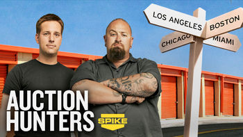 Netflix Box Art for Auction Hunters - Season 1