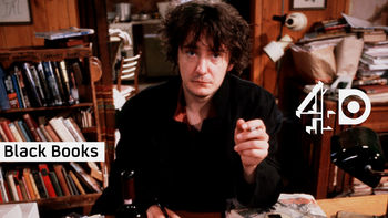 Netflix box art for Black Books - Series 1