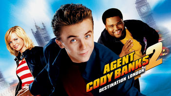 Netflix box art for Agent Cody Banks 2: Destination London