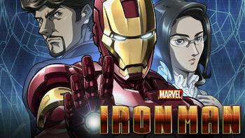 Netflix box art for Marvel Anime: Iron Man - Season 1
