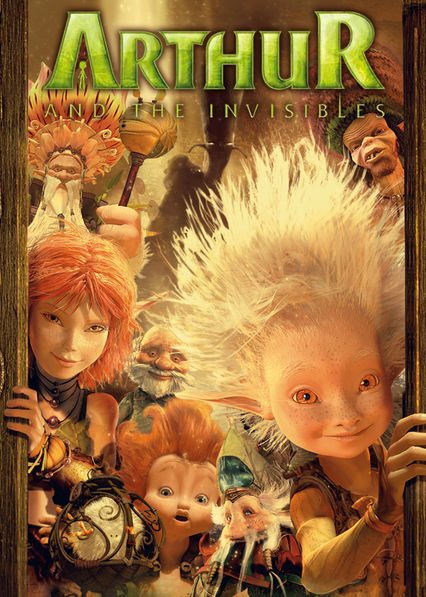 Arthur and the Invisibles Netflix DO (Dominican Republic)