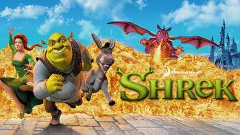 Netflix box art for Shrek