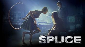Netflix box art for Splice